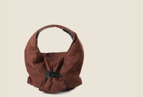 Large Brown everyday Pouch, Tote Bag, Shoulder Bag, Hobo Bag, Diaper Bag, Ruda rankinė laisvalaikiui, коричневая повседневная сумка ручной работы
